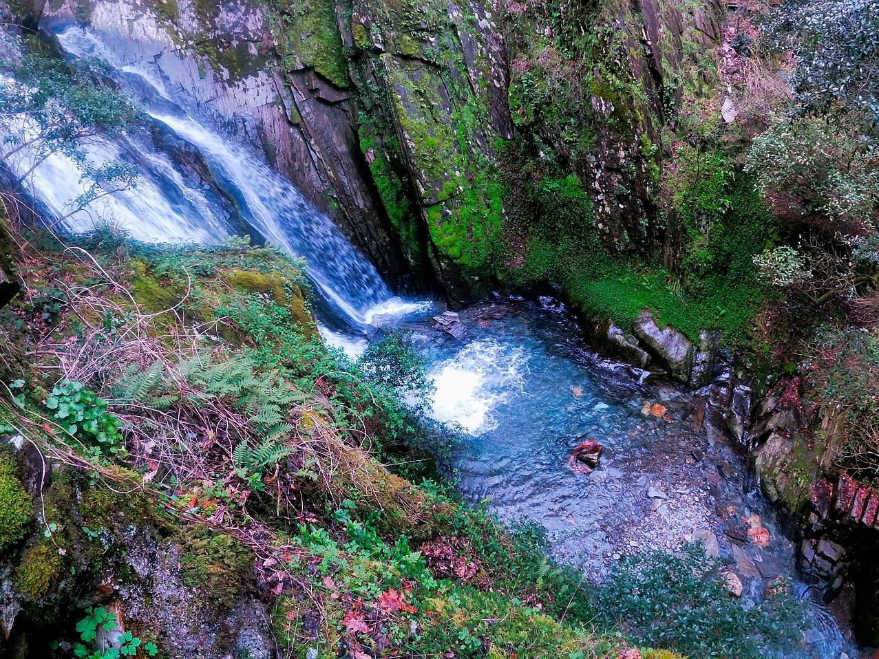 Fraga da Pena Waterfall